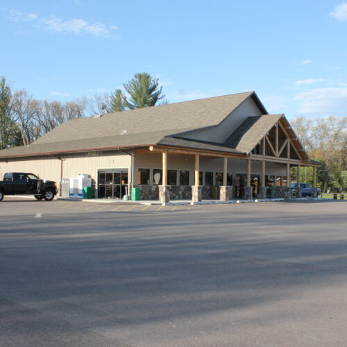 Front View of A Store